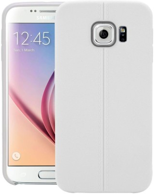 Cubix Back Cover for Samsung Galaxy S6 duos(White, Rubber, Plastic)