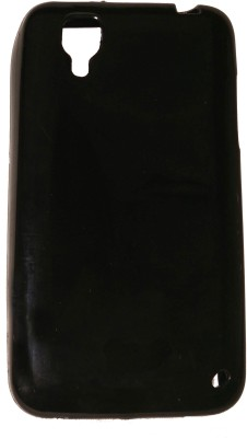 Puri Enterprises Back Cover for Micromax Bolt A067(Black, Rubber)