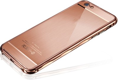 Kapa Back Cover for Apple iPhone 6, Apple iPhone 6S(Rose Gold, Plastic, Metal) Flipkart