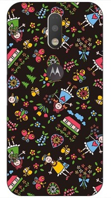 Pattern Creations Back Cover for Motorola Moto G4 Plus Multicolor