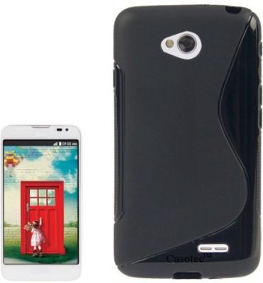 Icod9 Back Cover for LG D325 L70(Black, Plastic)