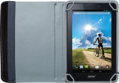 Fastway Book Cover for Acer B1-A71 Tablet(Black)