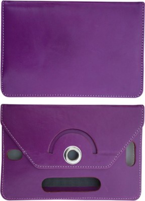 Fastway Book Cover for HP Pro Slate 8(Purple)