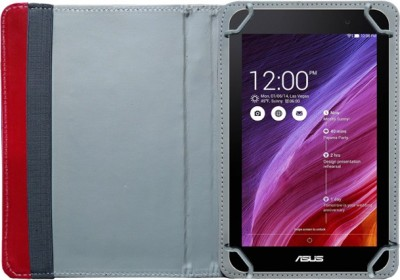 Fastway Book Cover for Asus Fonepad 7 FE171CG(Red)