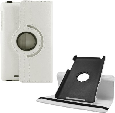 DMG Book Cover for Asus Google Nexus 7 1st Generation 2012(White)