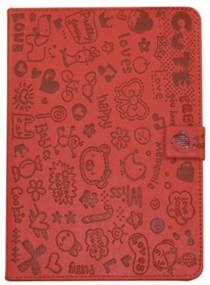 Kolorfish Book Cover for Apple iPad mini 2, iPad mini 3, Apple iPad mini(Red)