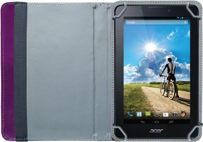 Fastway Book Cover for Acer B1-A71 Tablet(Purple)