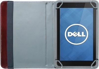 Fastway Book Cover for Dell Venue 7 3741 Tablet(8 GB, Wi-Fi+3G)(Brown)