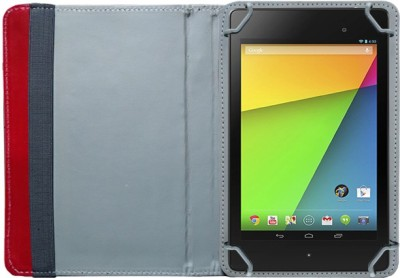 Fastway Book Cover for Google Nexus 7 2013 Tablet (Wi-Fi, 32 GB)(Black, 32, Wi-Fi Only)(Red)