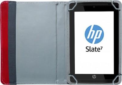 Fastway Book Cover for HP Slate 7 Voice Tab(Red)