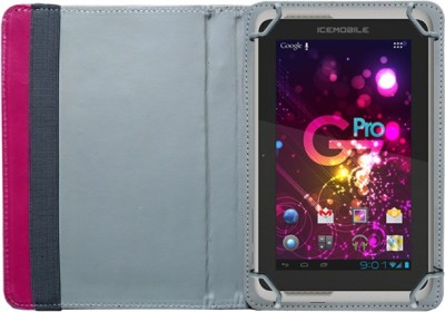 Fastway Book Cover for Icemobile G2 Tablet(Pink)