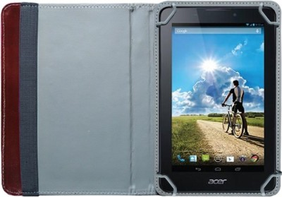 Fastway Book Cover for Acer B1-A71 Tablet(Brown)