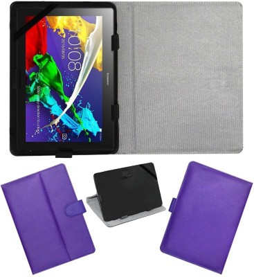 ACM Book Cover for Lenovo Tab 2 A10-70(Purple)