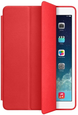 ikobucket Book Cover for Apple iPad Mini 4(Red)