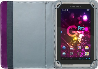 Fastway Book Cover for Icemobile G2 Tablet(Purple)