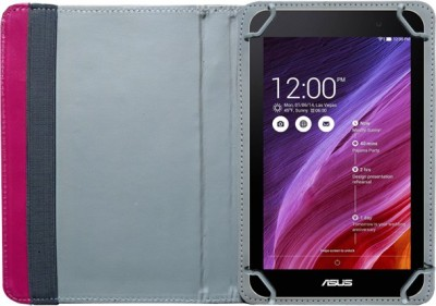 DMG Book Cover for Asus Fonepad 7 K00Z 7in Tablet(Brown, Artificial Leather)