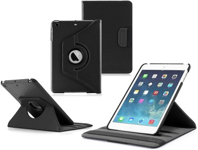 S Case Book Cover for Apple Ipad Mini 2(Black)