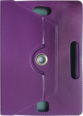 TGK Flip Cover for Samsung Galaxy Tab 4 10.1 Inch (Sm-T530, T531, T535) with 360 Degree Rotating Leather Stand Case(Purple, Shock Proof)
