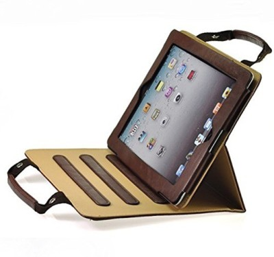 Proelite Book Cover for Apple iPad Air 2 9.7 inch(Brown)