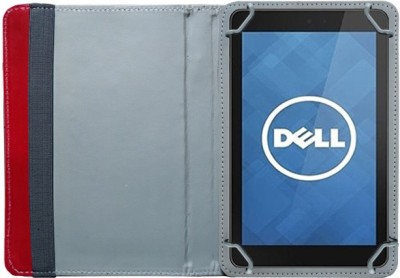 Fastway Book Cover for Dell Venue 7 3741 Tablet(8 GB, Wi-Fi+3G)(Red)