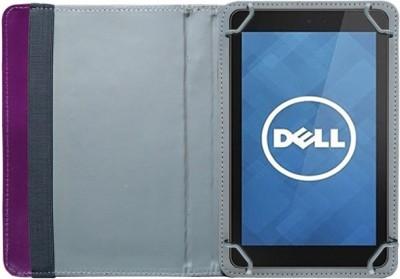 Fastway Book Cover for Dell Venue 7 3741 Tablet(8 GB, Wi-Fi+3G)(Purple)