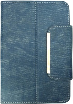 Fastway Book Cover for Beetel Magiq II Calling(Blue, Artificial Leather)
