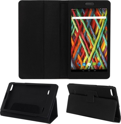 ACM Book Cover for Micromax Fantabulet F666(Black)