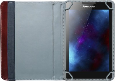 Fastway Book Cover for Lenovo Tab 2 A7-30(Brown)