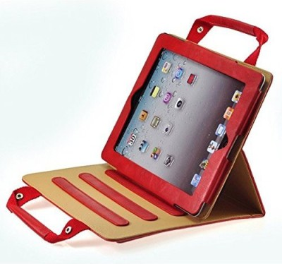 Proelite Book Cover for Apple iPad Air 2 9.7 inch(Red)