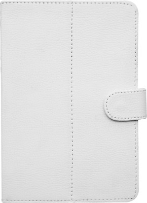 Fastway Book Cover for Alcatel OneTouch Tab 7 HD(White, Black)