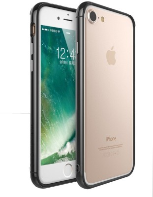 Kapa Bumper Case for Apple iPhone 7 Plus(Black, Rubber)