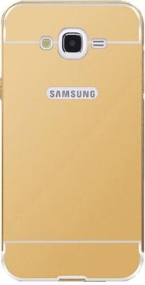Casotec Bumper Case for Samsung Galaxy J7 - 2015(Gold, Metal) Flipkart