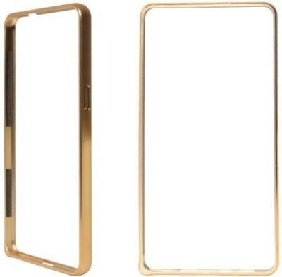 Micomy Bumper Case for SAMSUNG Galaxy E7(Gold, Metal)