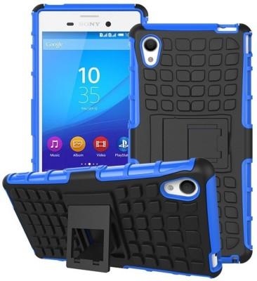 Heartly Bumper Case for Sony Xperia M4 Aqua Spider Blue