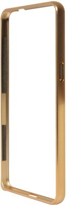 Motomo Bumper Case for SAMSUNG Galaxy A7(Gold, Metal) Flipkart