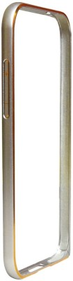 Muskaan Shoppers Bumper Case for Htc Desire 620(Silver, Metal)