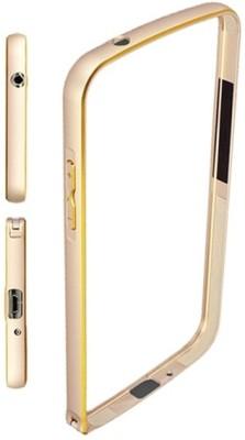 Wetrade Bumper Case for SAMSUNG Galaxy E7(Gold, Metal)