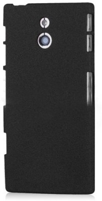 Cubix Back Cover for Sony Xperia P LT22i(Black)
