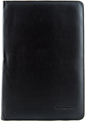 Mystry Box Flip Cover for Lenovo Ideatab A10-70 A7600(Black)