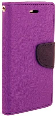 Samrat Flip Cover for SAMSUNG Galaxy S6 Edge Purple