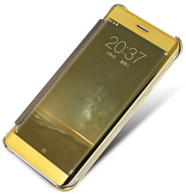 Kapa Flip Cover for Samsung Galaxy J5 - 6 (New 2016 Edition)(Gold, Plastic)