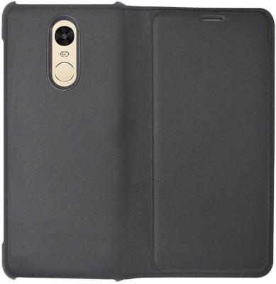 COVERNEW Flip Cover for Mi Redmi Note 4 Black