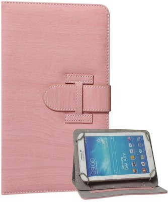 DMG Flip Cover for Xolo Play Tegra Note Tablet(Pink, Artificial Leather)
