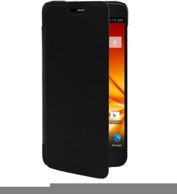 RDcase Flip Cover for Micromax A89 Ninja Black RDcase Plain Cases   Covers