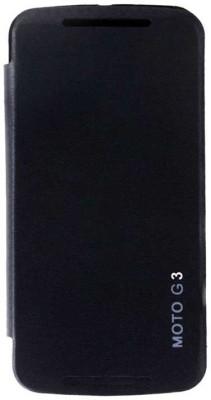 Vvage Flip Cover for Motorola Moto G  3rd Generation  Black