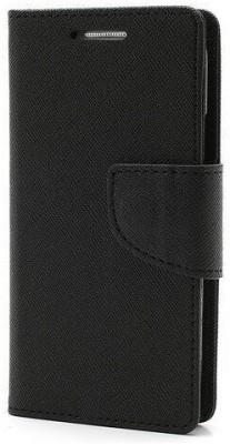 MTA Flip Cover for Samsung Galaxy Note 2(Black, Cloth, Rubber)