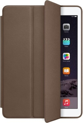 GadgetM Book Cover for Apple Ipad Air 2(Brown)