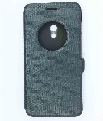 Taslar Flip Cover for Asus Zenfone 5(Black, Leather, Rubber)