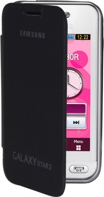 RDcase Flip Cover for Samsung Galaxy Star 2 G130E(Black, Artificial Leather, Plastic)