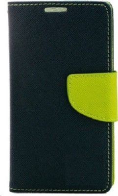 Tingtong Flip Cover for Xiaomi Redmi Note 2(Blue, Green, Artificial Leather)